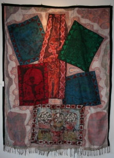 """In Retrospect,"" batik quilt tapestry (BQT)"