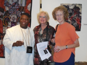 Tunde Odunlade, Mimi Wolford, and Janet Stanley