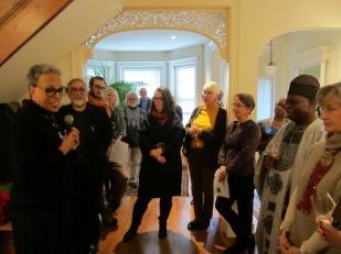 Art Salon, Khoury Van Gilder, Oct. 17, 2015