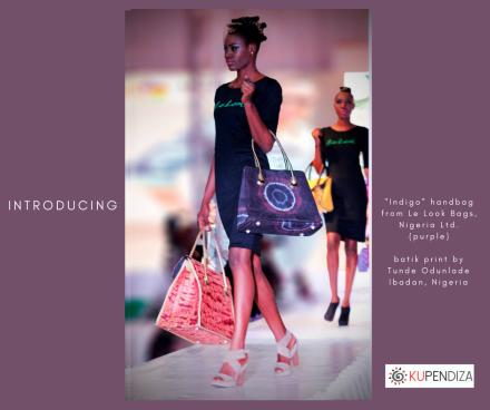 Tunde-Odunlade-batik-print-Indigo-handbag-from-Le Look-Nigeria-purple