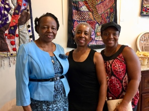 Christina Ajewole, Art Rep Karen James Cody, Adesanya Omoruyi