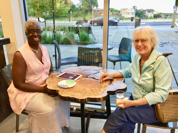 """Culture Coffee Proprietor Veronica """"Miss V"""" Cooper with Mimi Wolford"""